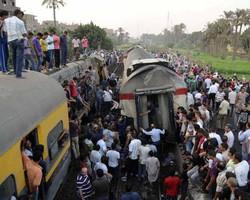 При крушении поезда в Египте пострадали 150 человек