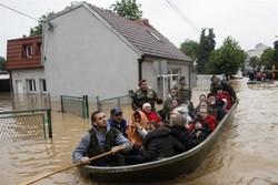 В Сербии введен режим ЧС из-за наводнений