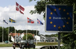 Дания продлила действие паспортного контроля на границе с Германией