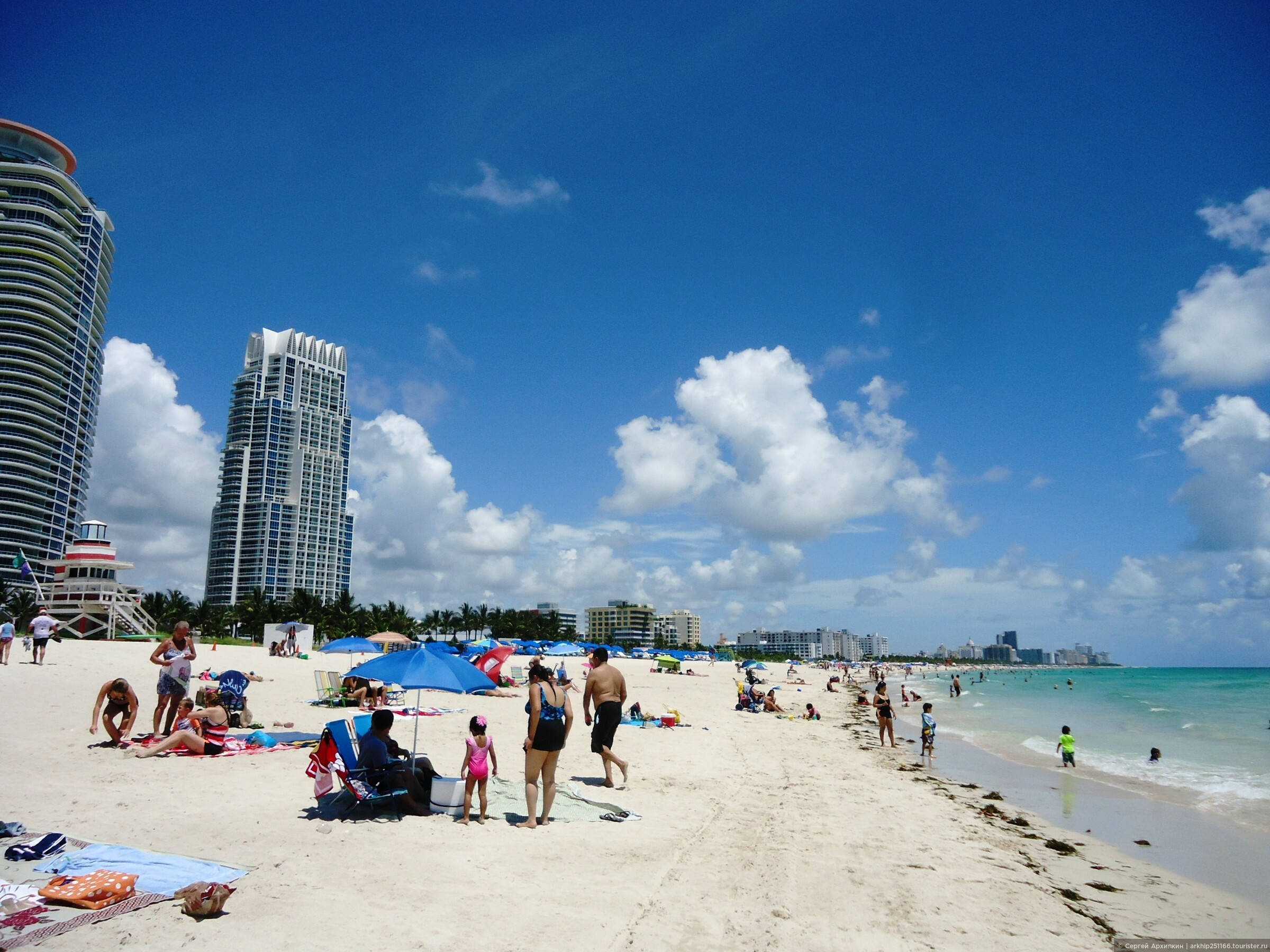 Фото пляж на маями