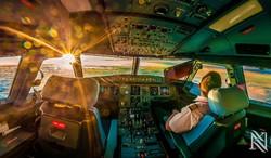 Пилоты самолёта уснули за штурвалом во время полёта