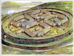 В Дании для туристов открыли крепость викингов