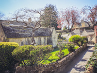The model village Bourton-on-the-Water