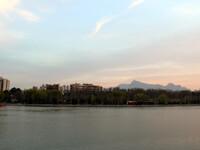 Вечерний и ночной Исфахан.