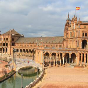 Площадь Испании в Севилье.