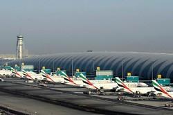 В аэропорту Дубая после посадки загорелся самолет Emirates