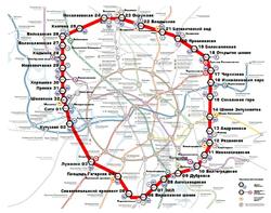 Московское центральное кольцо запустят  10 сентября