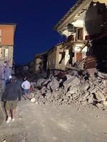 Мощное землетрясение в Италии