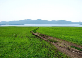 На озере Имантау