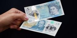 В Великобритании введены в обращение пластиковые купюры