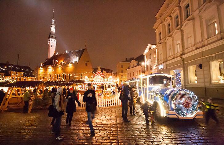 В европе на новый год отдыхают