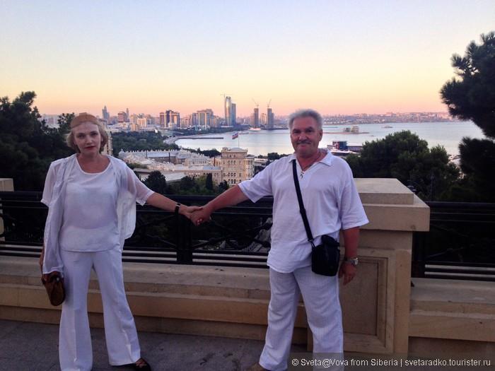 Путешествие русской пары по Закавказью, часть3, Азербайджан