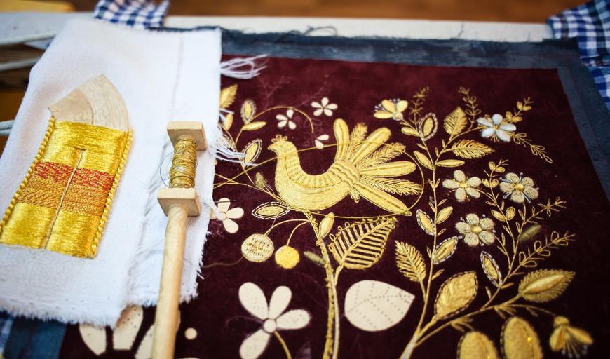 Торжок вышивка золотом обучение 92