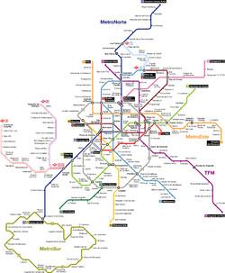 Транспорт Мадрида