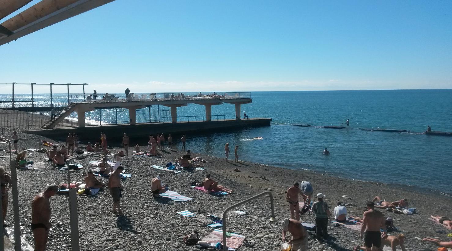 Какие пляжи в адлере фото