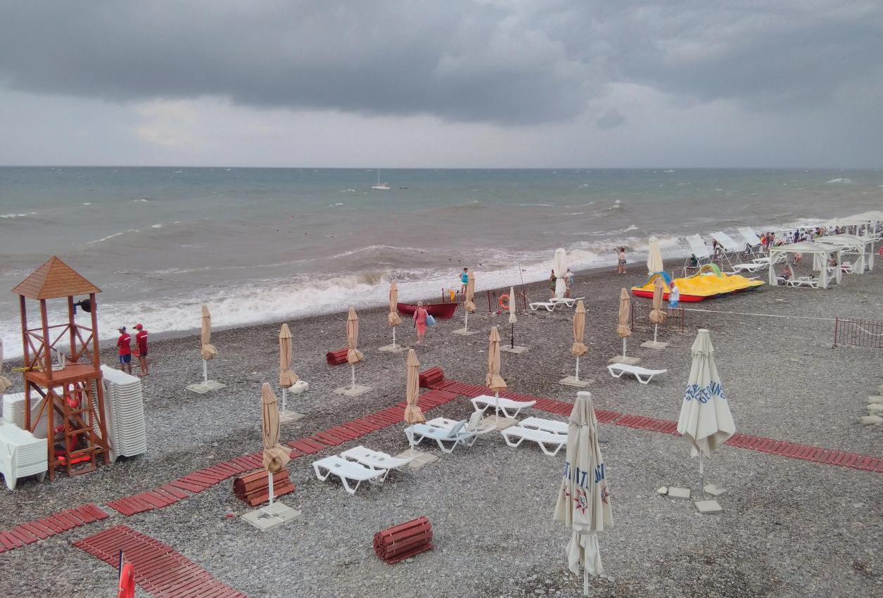 Пляжи багратион лазаревское фото отзывы