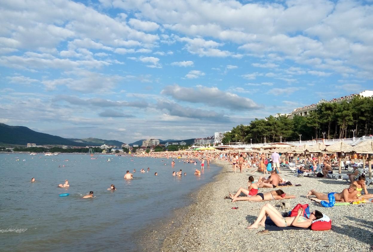 Отдых в геленджике 2018 фото пляжа