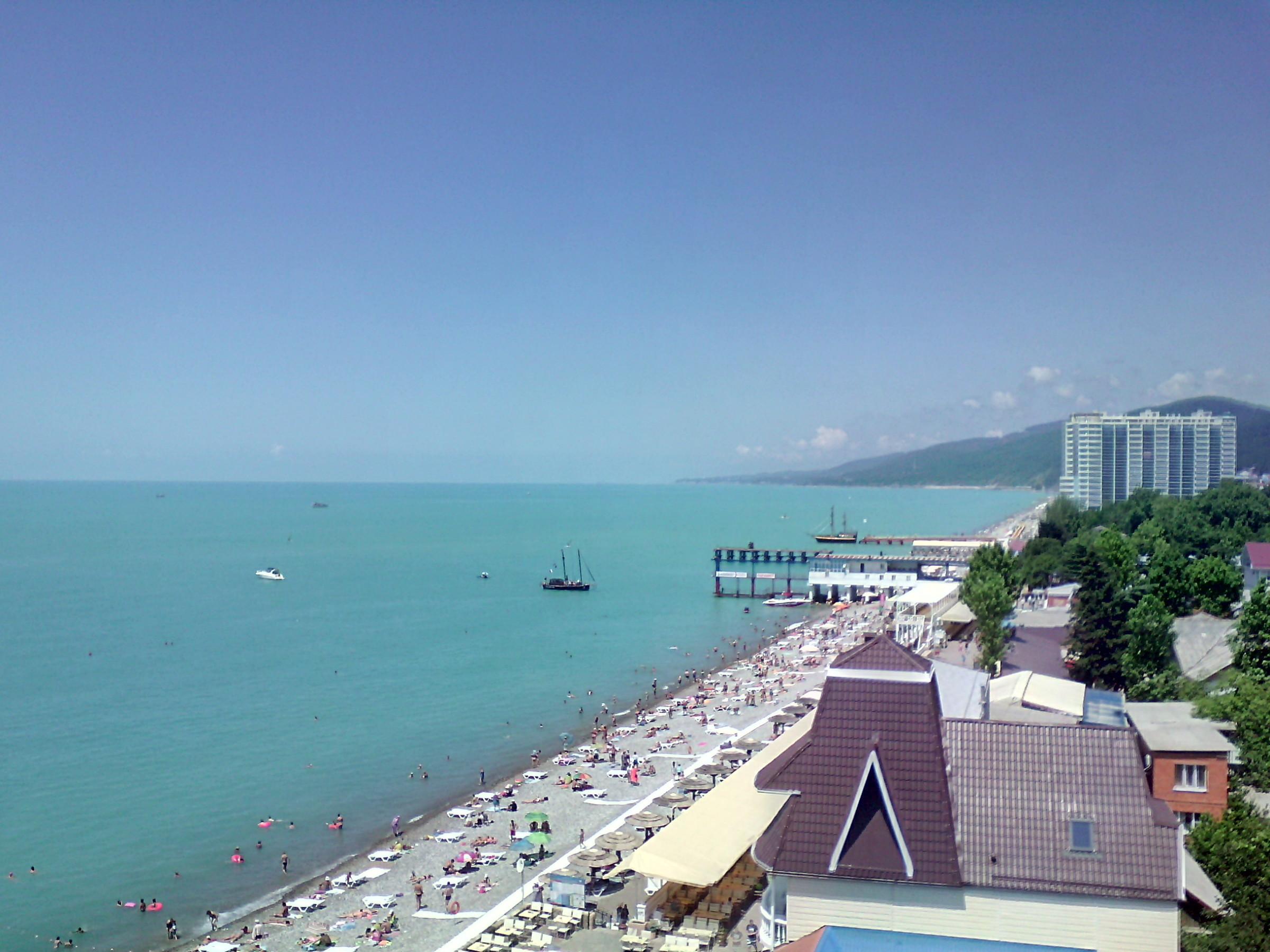 Мои фото с пляжа лазаревского