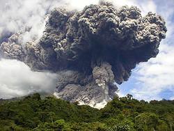 Вулканическая пыль вновь может помешать авиасообщению