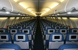 Уснувшую американку не заметили на борту авиалайнера