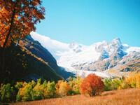 Красота Домбая осенью