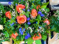 Кусочек лета: цветочный рынок в Ницце