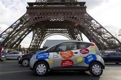 В Париже теперь можно взять напрокат электромобиль
