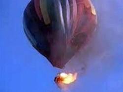 Новая Зеландия: одиннадцать человек сгорели и разбились на воздушном шаре