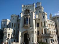 Замок Глубока над Влтавой (Чехия)