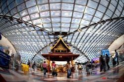 Аэропорт Бангкока столкнулся с огромными очередями