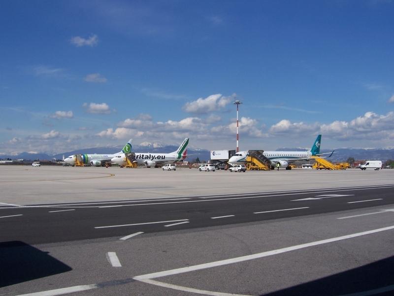 Аэропорт Вероны, Италия. Отели