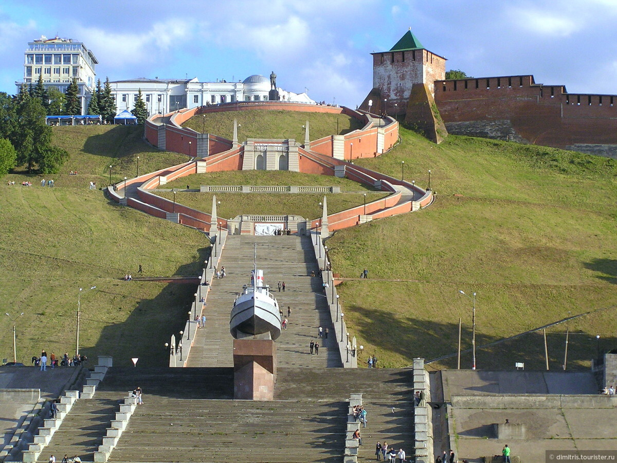 Чкаловская лестница нижний новгород фото