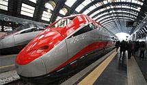 Италия предоставляет скидки на проезд в скоростных поездах