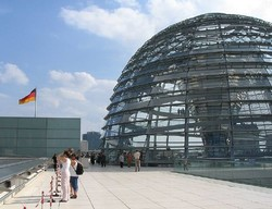 Туристов не пустят под купол Рейхстага