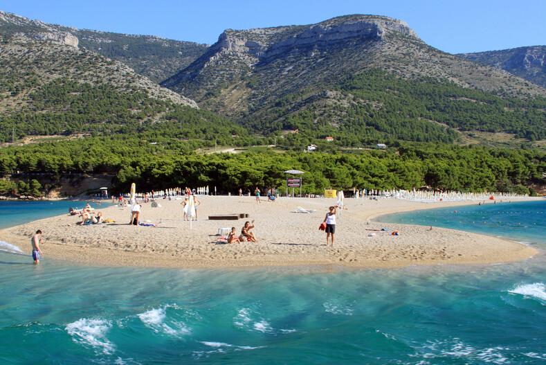Пляжи хорватии фото