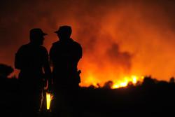 Испанию снова тревожат лесные пожары