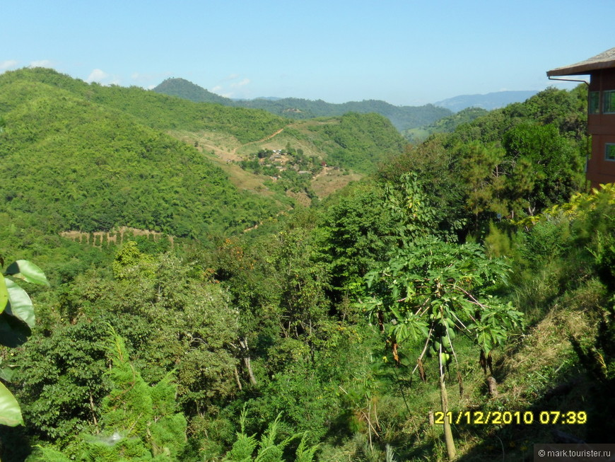 Тха Тон, провинция Чианг Рай, Север Таиланда