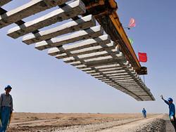 В Китае построили самую длинную в мире скоростную ж/д магистраль