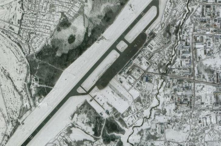 Схема аэропорта Нижневартовска