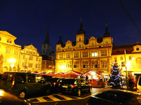 Ночная Прага с элементами мистики