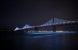 Мост в Сан-Франциско стал крупнейшей инсталляцией на свете