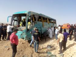 В Египте перевернулся автобус с туристами из Мексики и Китая