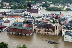 В Германии продолжается борьба с мощным наводнением