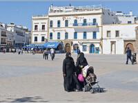 9. На площади Мулай Хассана (Марокко)