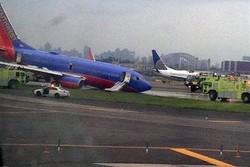 Работа аэропорта Нью-Йорка частично восстановлена после аварии самолета