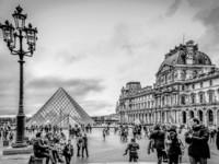 Париж. Черно-белое