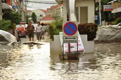 В Таиланде проливные дожди уничтожили пляжи Паттайи