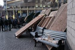В Киеве отменили главную новогоднюю елку