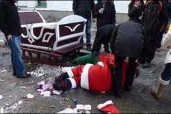 Польский Санта в санях угодил в ДТП