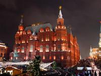 Финальный забег по рождественской Москве